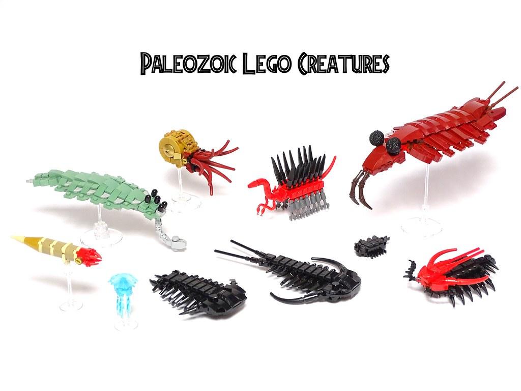 Paleozoic LEGO Creatures