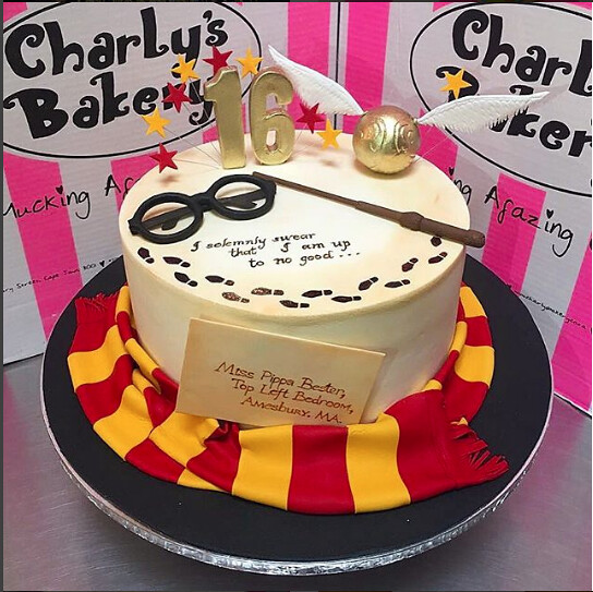 Harry Potter Birthday Cake.Harry Potter Hogwarts Themed Cake Charly S Bakery Flickr