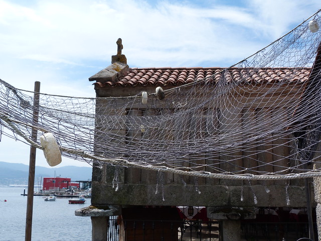 Hórreo en Rúa do Mar (Combarro, Pontevedra)