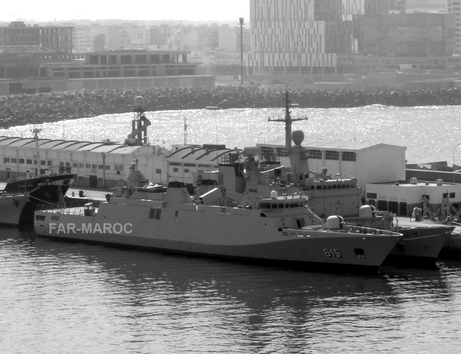 Royal Moroccan Navy Sigma class frigates / Frégates marocaines multimissions Sigma - Page 25 47078874594_b9a6ca4bb8_o