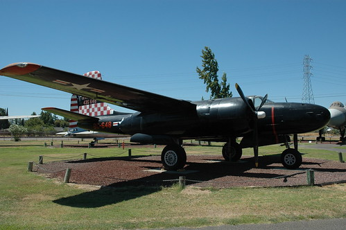 Douglas A-26 Invader at the Castle Air Museum