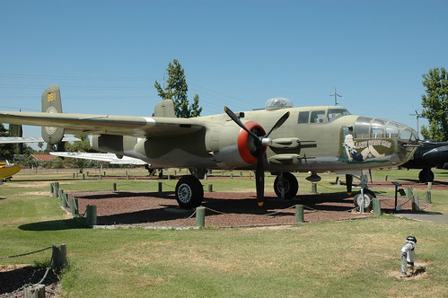 North American B-25 Mitchell at the Castle Air Museum