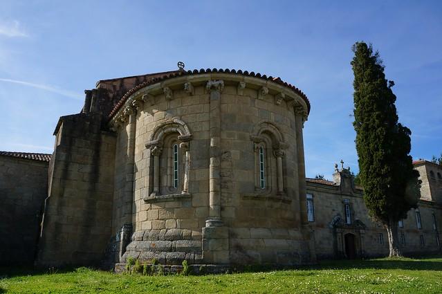 Iglesia del Monasterio de Ferreira de Pantón. (Explore 2019.05.17)