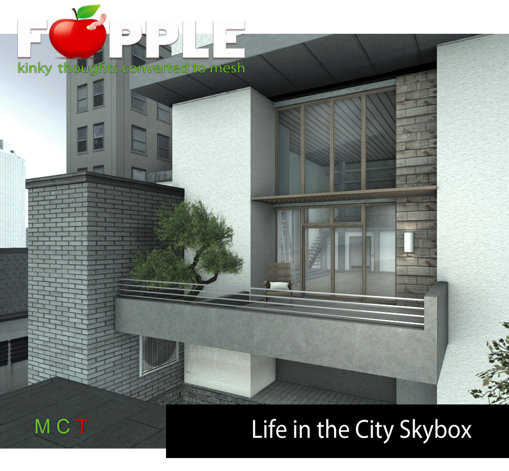 Fapple – Life in the City Skybox