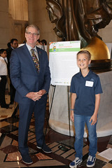 Coventry-area student Luke Kinney was honored last week as a finalist at the 14th eesmarts™ Student Contest ceremony held at the State Capitol.