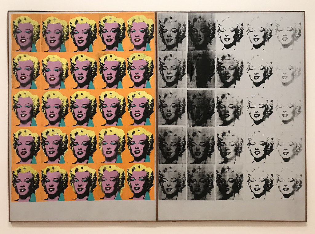 Andy Warhol | Marilyn Diptych, 1962. Acrylic paint ...