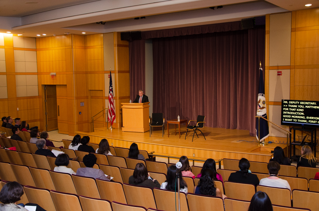 ... Deputy Secretary Sullivan Gives Remarks at a 2019 Asian American Pacific Islander Heritage Month Event -