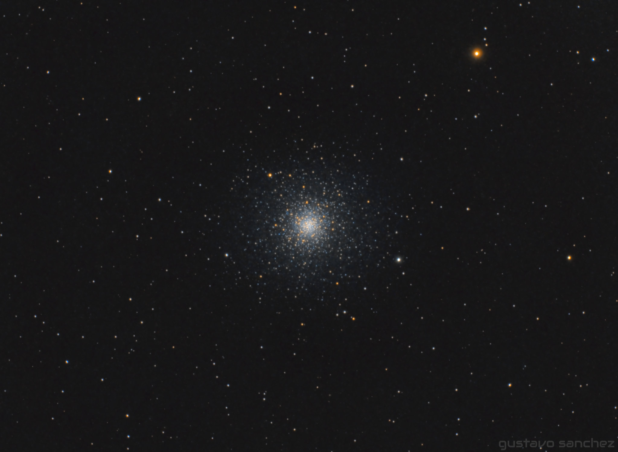 Messier 3 - Annotated