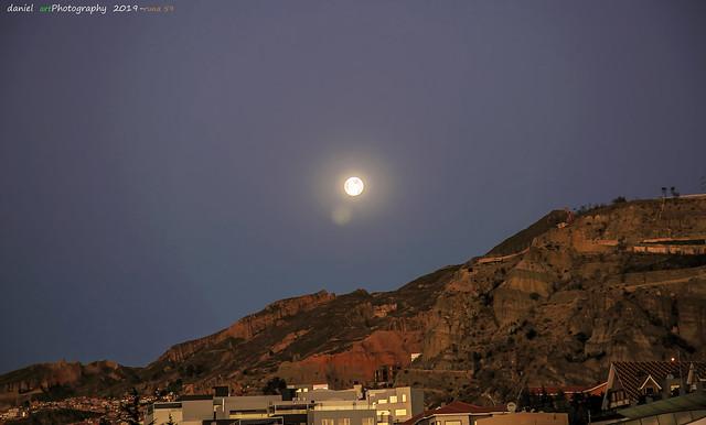 La luna de la zona sur