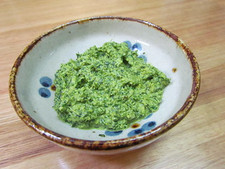 Basil and Spinach Spread