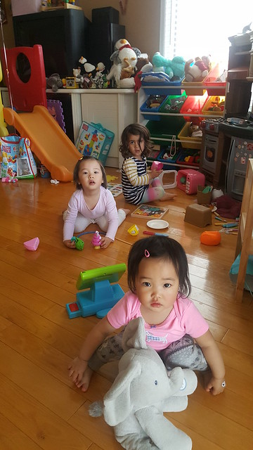 Sophia, Evelyn, and Astrid