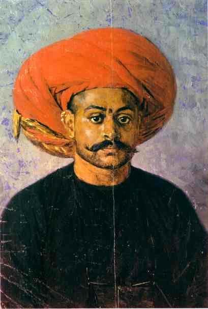 Vereshchagin, Vasily (1842-1904) - 1874-76 Sowar, the Messenger of the Government (The Museum of Russian Art, Kiev, Ukraine)