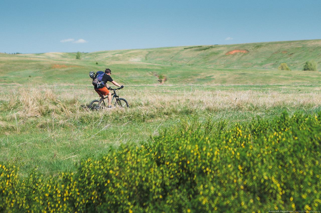 По области на велосипеде: Богатое - Страхово - Богатое -