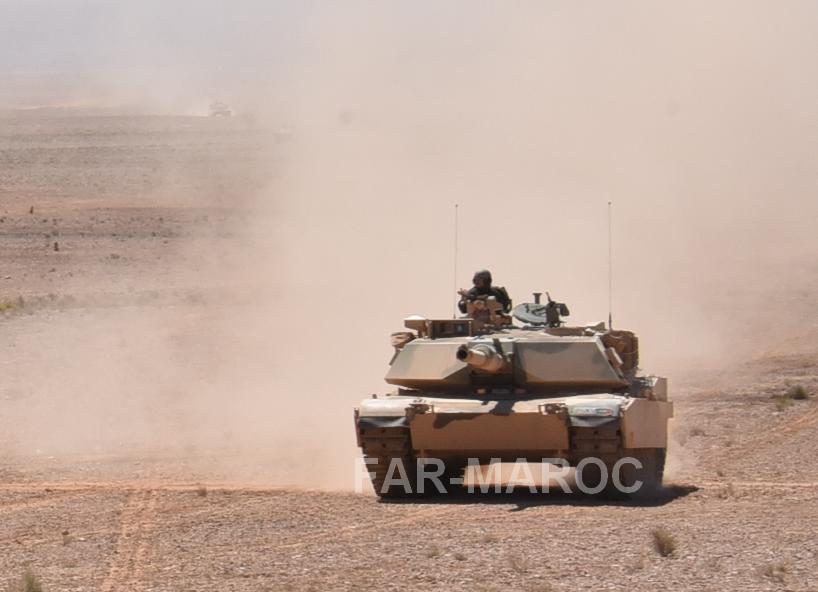 M1A1 SA ABRAMS Marocains / Moroccan M1A1 SA ABRAMS 47086266824_c040cc5bd5_o