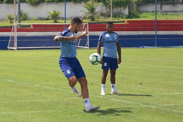 Treino Grêmio 18/05/19