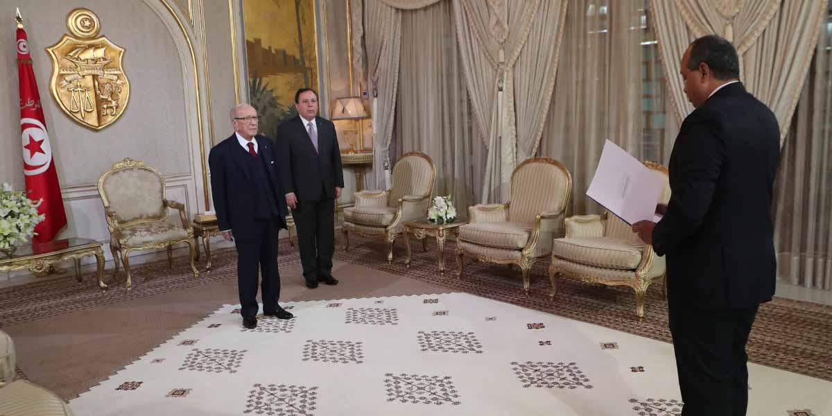 Gobierno de Túnez recibe copias de estilo de nuevo Embajador de Venezuela