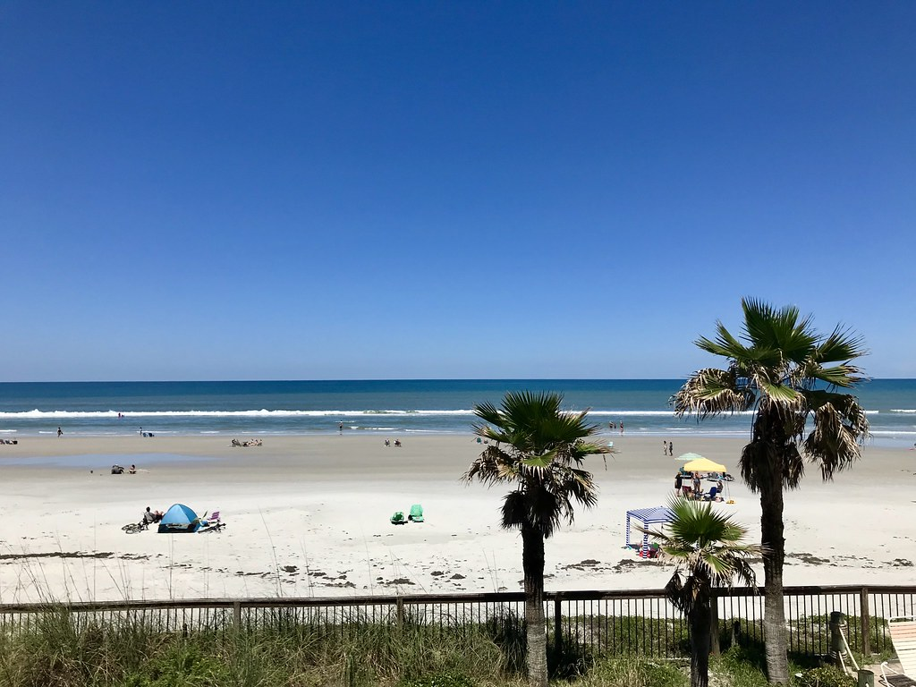 condo view of New Smyrna Beach, FL