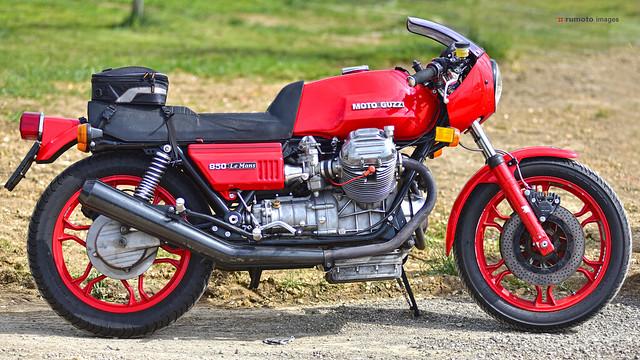 Moto Guzzi 850 Le Mans Motorradmuseum Vorchdorf (c) 2019 Берни Эггерян :: rumoto images 1622