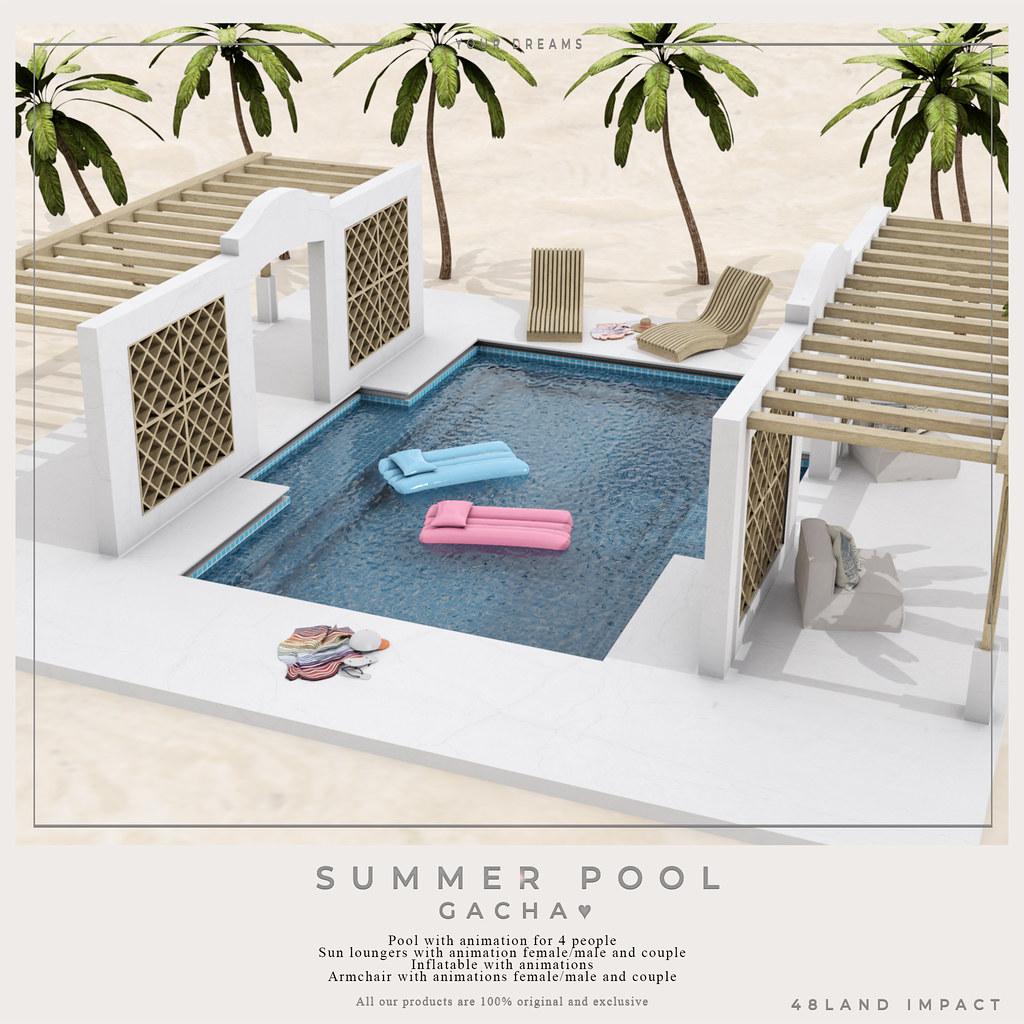 {YD}Summer pool