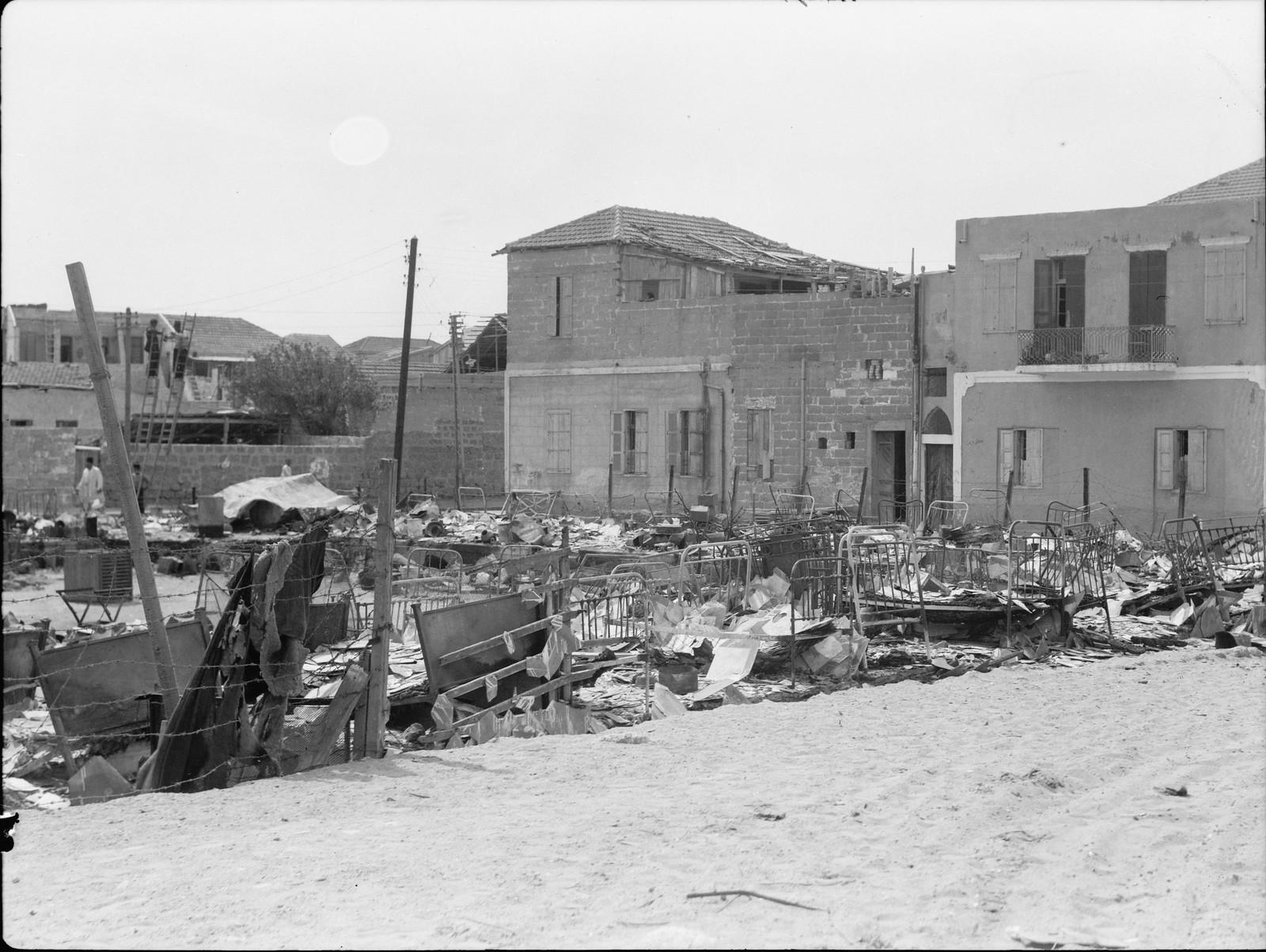04. Яффо. Разрушенные еврейские жилые дома