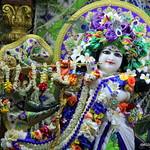 ISKCON Juhu Sringar Deity Darshan on 19th May 2019