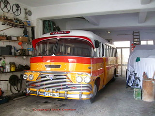 AEC Malta bus FBY043 at home December 2012