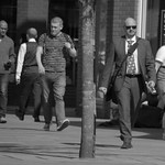 Candid shot on Fishergate, Preston