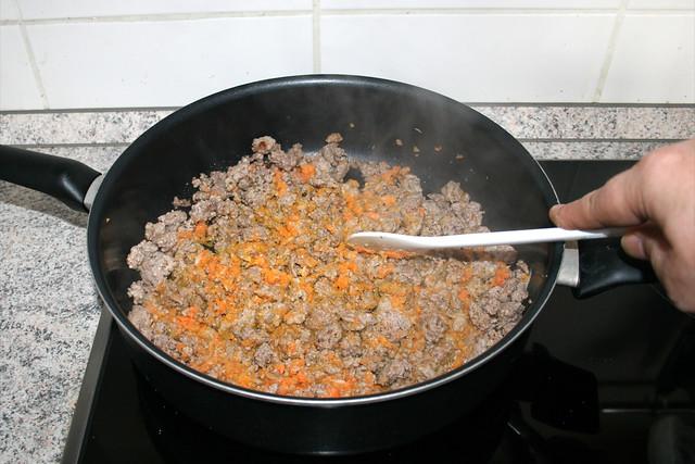 14 - Gemüse mit andünsten / Braise vegetables