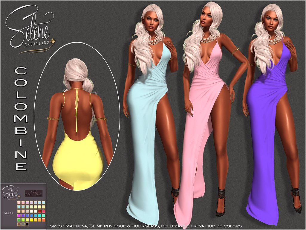 [Selene Creations] Colombine gown