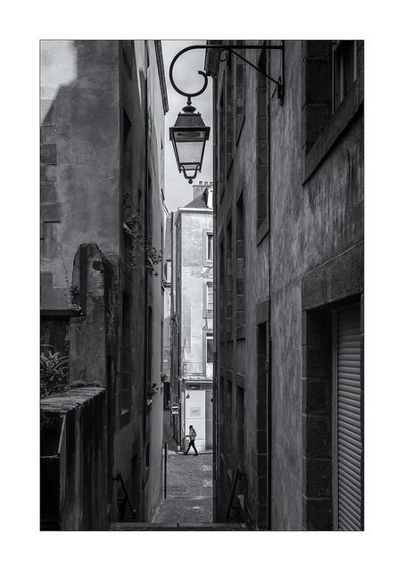 Le lampadaire de la rue de petits degrés !