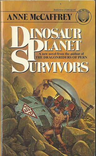 Dinosaur Planet Survivors - Anne McCaffrey - cover artist Darrell K. Sweet
