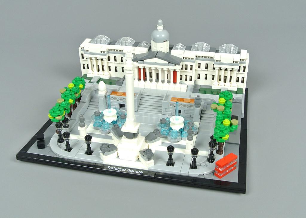 LEGO Architecture 21045 Trafalgar Square review | Brickset