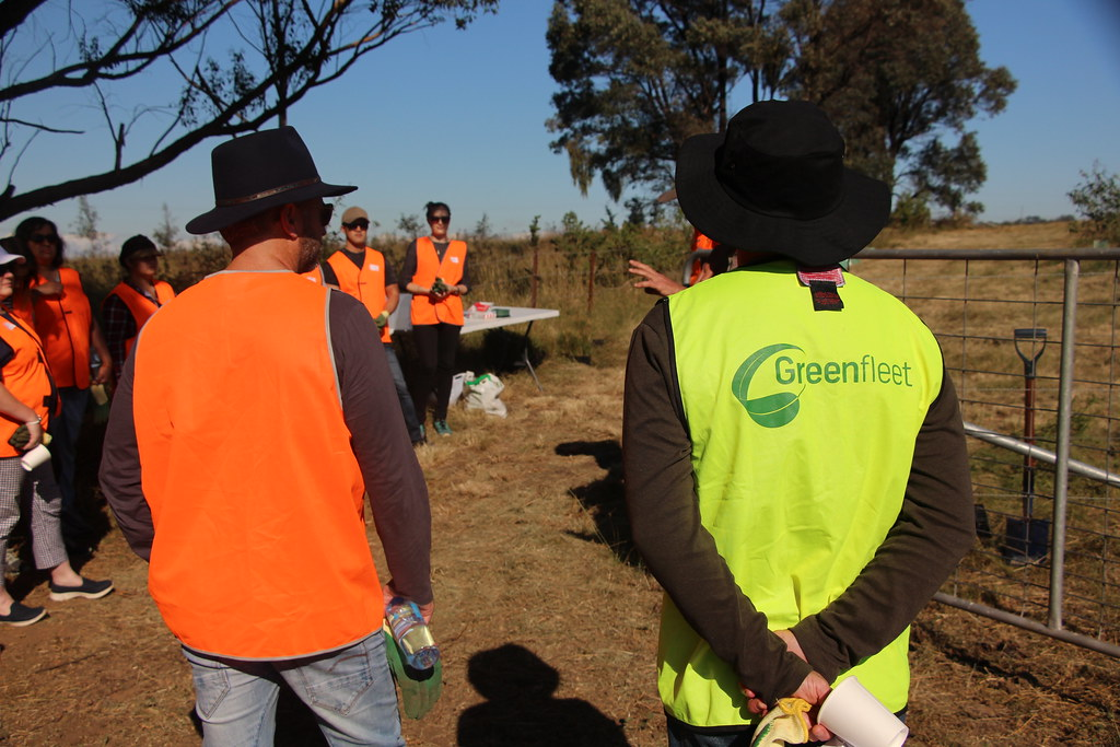 2019 Smartgroup planting day, Mount Carmel Retreat, NSW