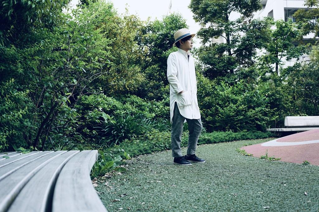 田中帽子店×亀田縞_coordinate