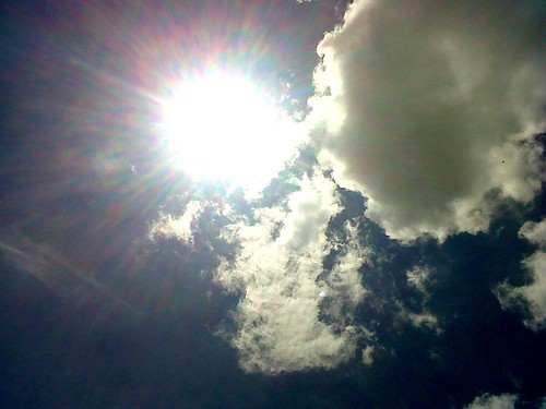 Céu - sol raiando
