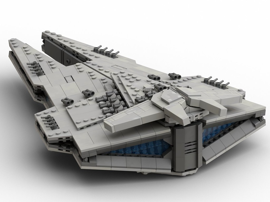 LEGO Mini Harrower Class Dreadnought MOC