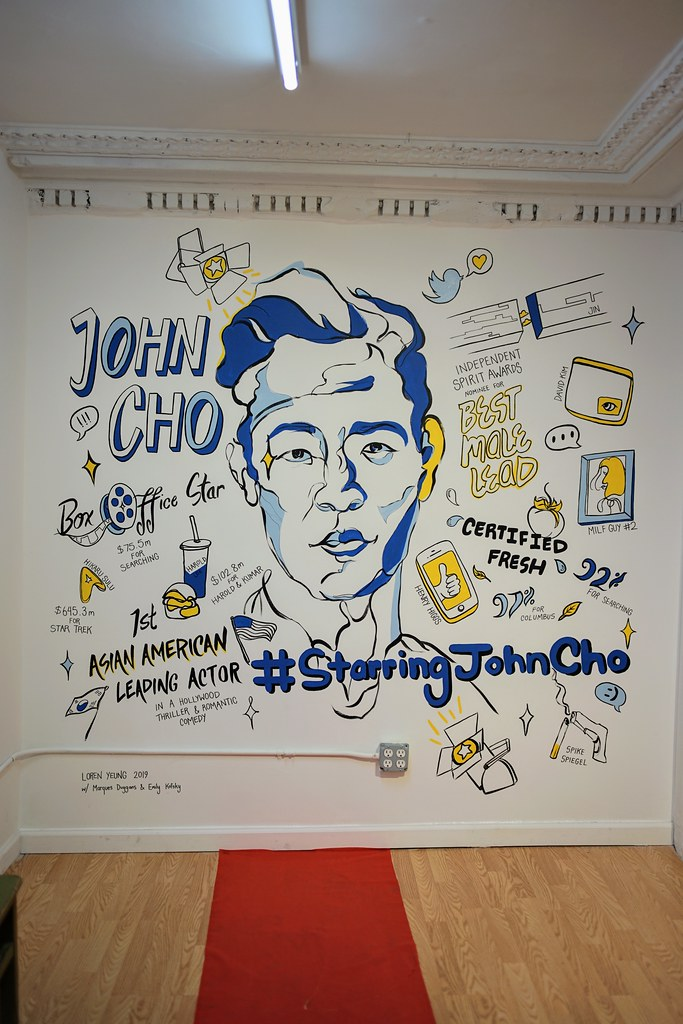 #starringjohncho at Pearl River Mart (May 18-July 7, 2019)