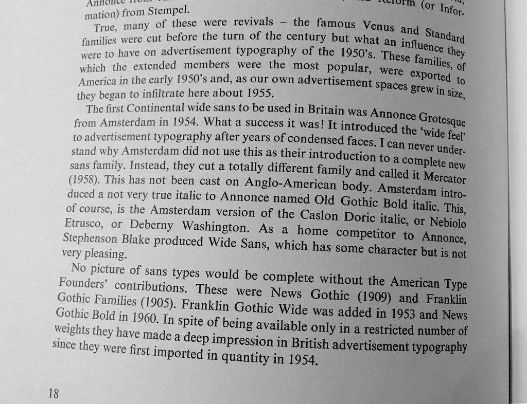 Ken Dickinson, A decade of type design, Penrose Annual Vol