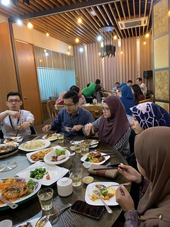 Team Lunch @ Amber, BS