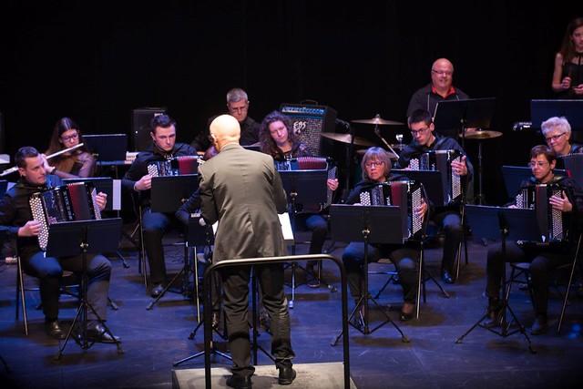 L'orchestre d'accordéon, direction Philippe REY