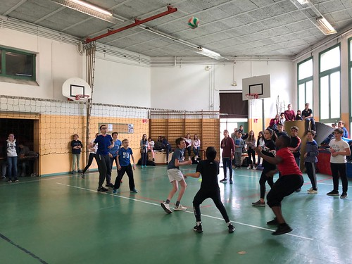Interclasses 5ème - Volley 2019
