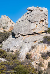 Ikaria/Ικαρία  - Rock formation with nose