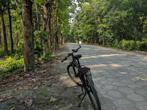 bicycle block cycling hexagon northbengal road trekmarlin6