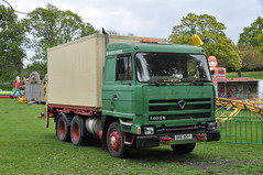 Common Buzzard posted a photo:	1983 Foden truck seen in Castle Park