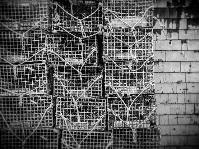 crab traps 2 (Point Pleasant Beach NJ)