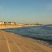 Coastal wall & path