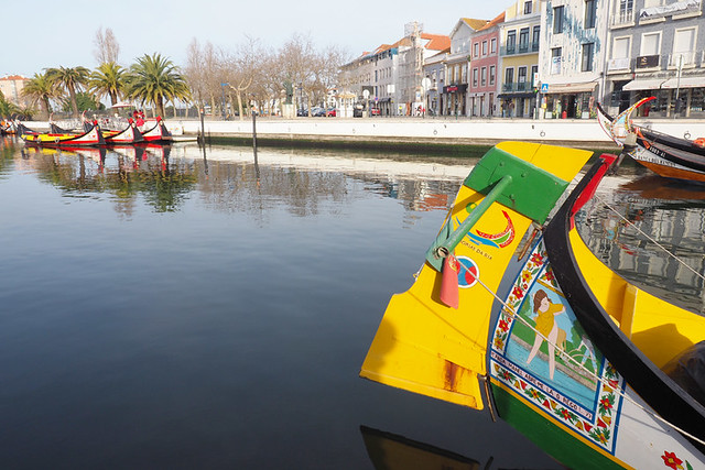 Saucy scenes, moliceiro, Aveiro, Portugal