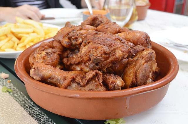 Garlic chicken, Tenerife