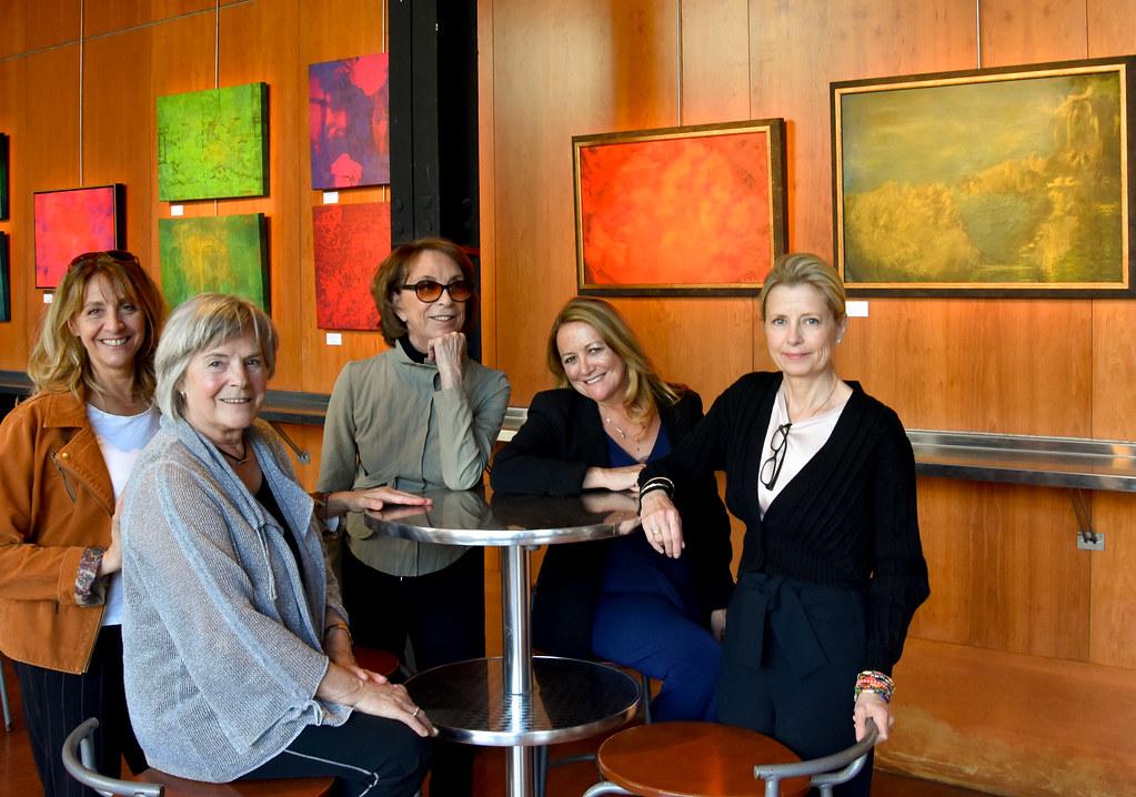 Vernissage 30 avril Deux femmes artistes en harmonie-2