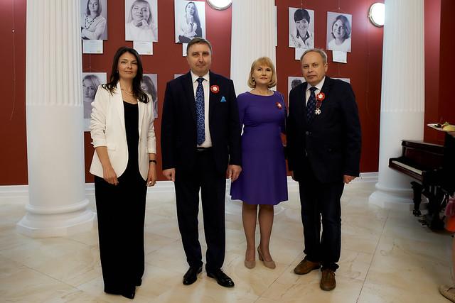 16 Maja 2019 Anna Zdanowska Konsul Janusz Jabłoński Anna Jabłońska Włodzimierz Kuczyński w Fiłharmonii